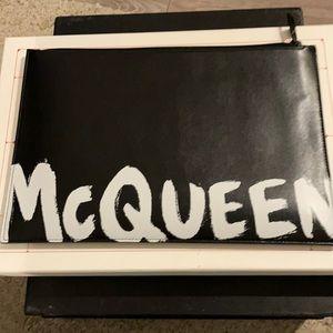 Alexander McQueen SS2020 pouchette in graffiti